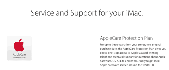 AppleCare Upselling