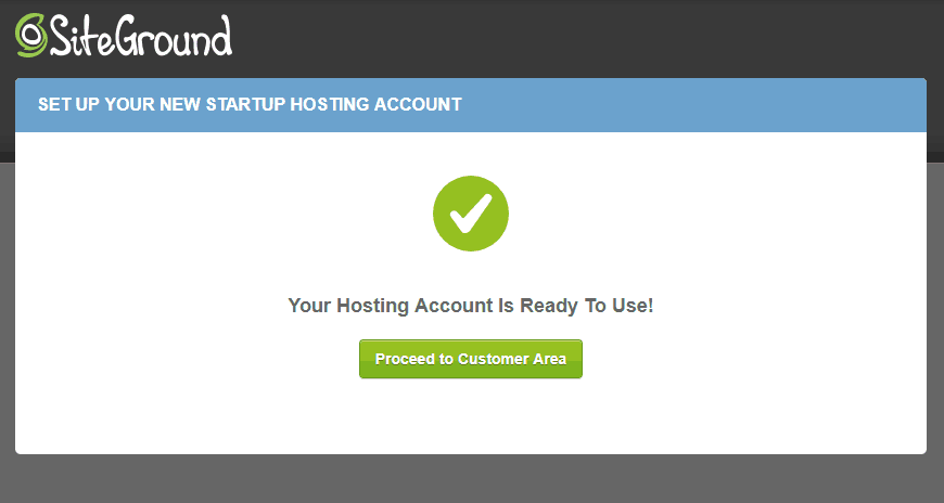 complete hosting account