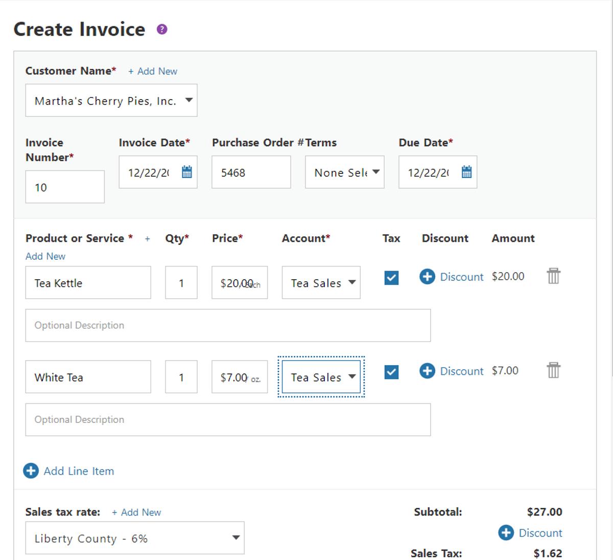 patriot software boleh buat potongan harga di invois