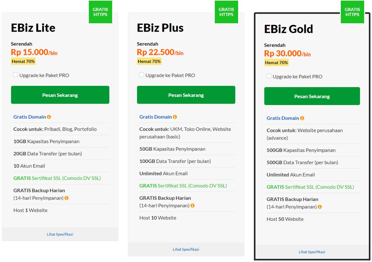 paket dan harga exabytes
